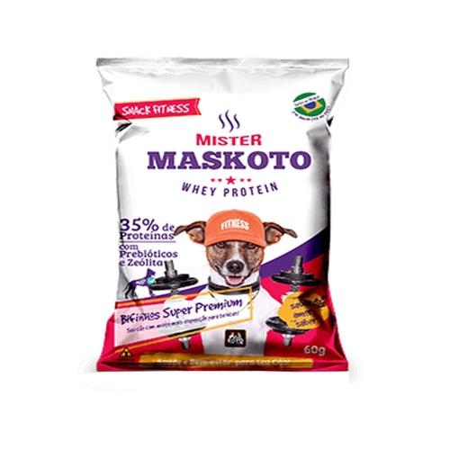 Petisco  Bifinho Maskoto Whey Protein para Cães 60g