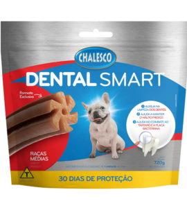 Petisco Dental Smart Frango para Cães de Raças Médias 720 g 30 Unidades Chalesco