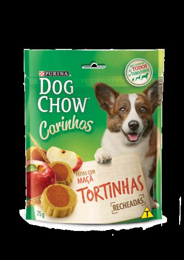 PETISCO DOG CHOW CARINHOS TORTINHAS RECHEADAS 75G