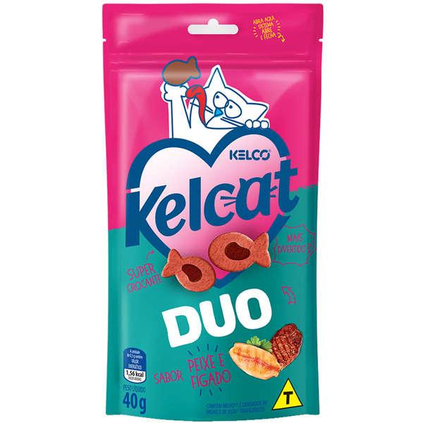 Petisco Kelcat Duo 40g