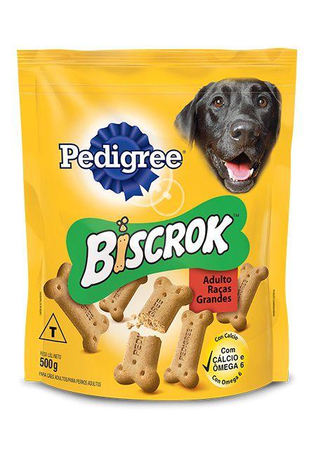 Petisco Biscrok Pedigree para Cães Adultos de Raças Grandes
