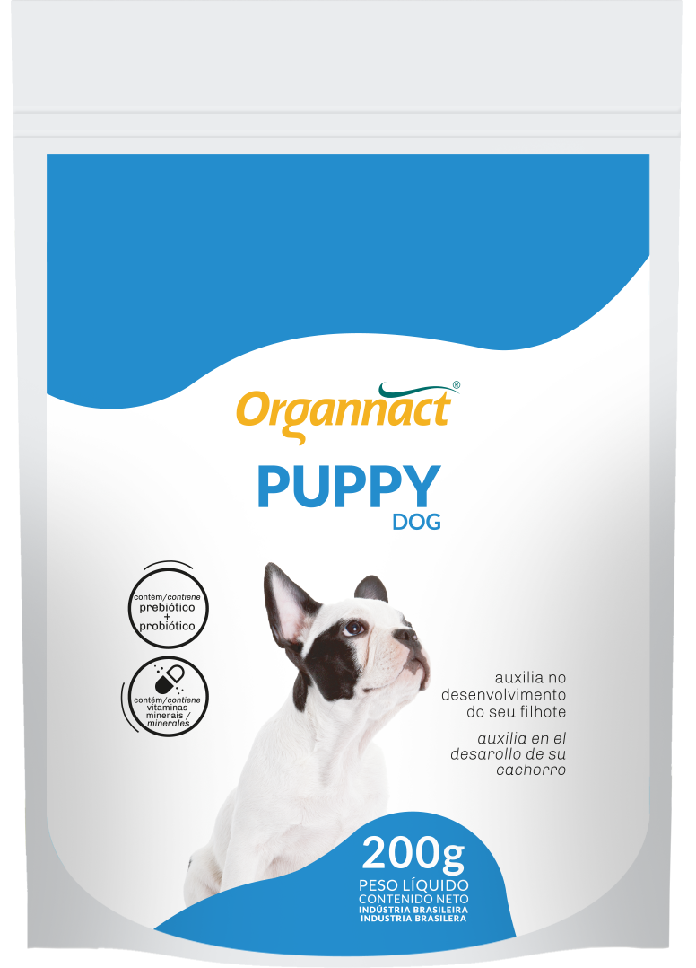 Puppy Dog Suplmento Mineral para Cães Filhotes 200 g Organnact