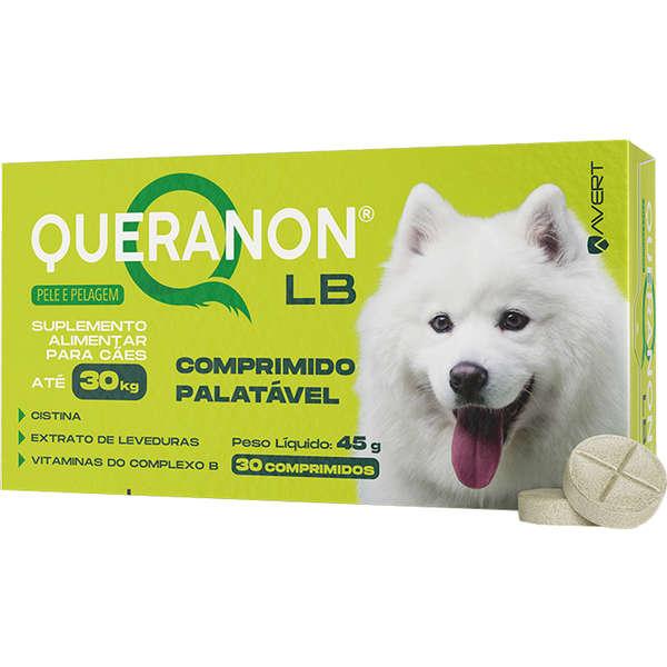 Queranon LB Suplemento Alimentar para Cães deaté 30 kg 30 Comprimidos