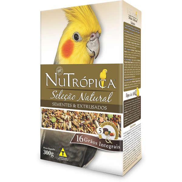 RAÇÃ NUTRÓPICA CALOPSITA SELEÇÃO NATURAL 300G