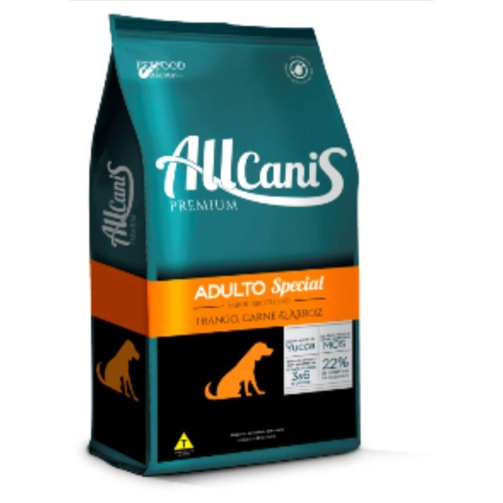 Ração Allcanis Premium Special para Cães Adultos 15 Kg