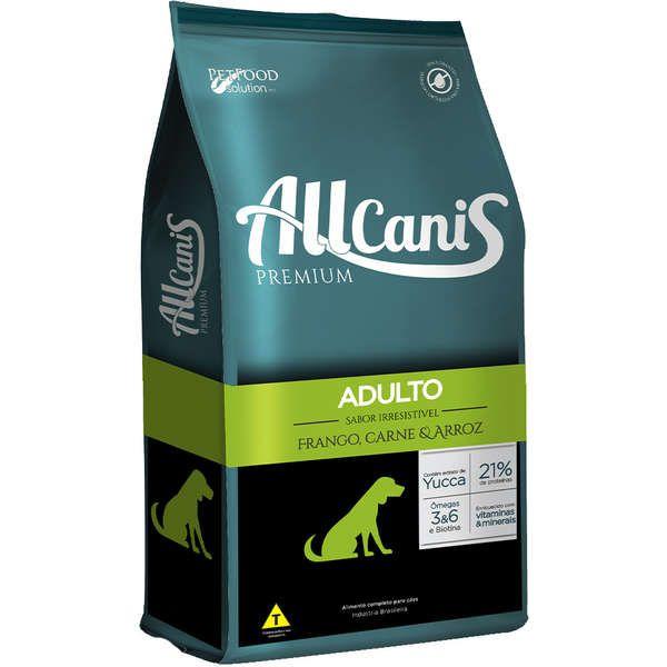 Ração Allcanis Premium para Cães Adultos 15 Kg