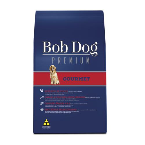 Ração Bob Dog Gourmet Premium Cães Adultos 15kg