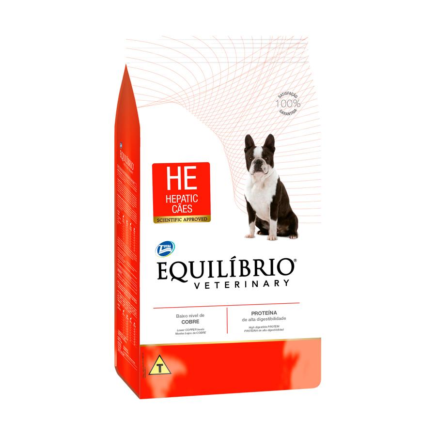 Ração Equilíbrio Veterinary Hepatic para Cães Adultos 2kg