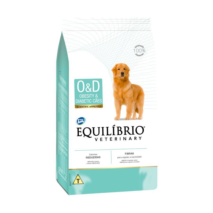 Ração Equilíbrio Veterinary Obesity & Diabetic para Cães Adultos 2kg