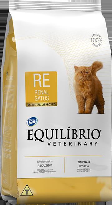 Ração Equilíbrio Veterinary Renal para Gatos Adultos 2kg