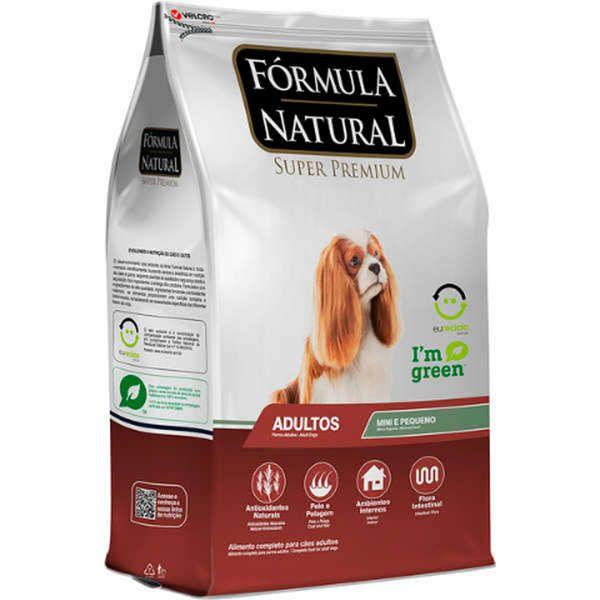 Ração Fórmula Natural Super Premium para Cães Adultos de Porte Mini e Pequeno