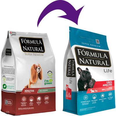 Ração Fórmula Natural Super Premium para Cães Adultos de Porte Mini e Pequeno 7 Kg