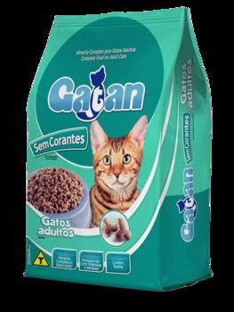 Ração Gatan Mix sem Corantes para Gatos Adultos 15Kg