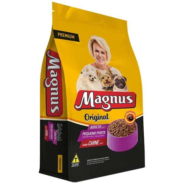 Ração Magnus Original Para Cães De Porte Pequeno 15kg