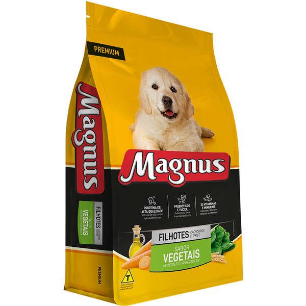 Ração Magnus Para Cães Filhotes Sabor Vegetais 25kg