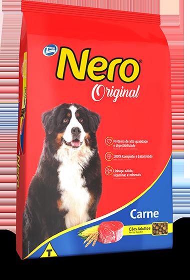 Ração Nero Original Sabor Carne Para Cães Adultos  20 Kg