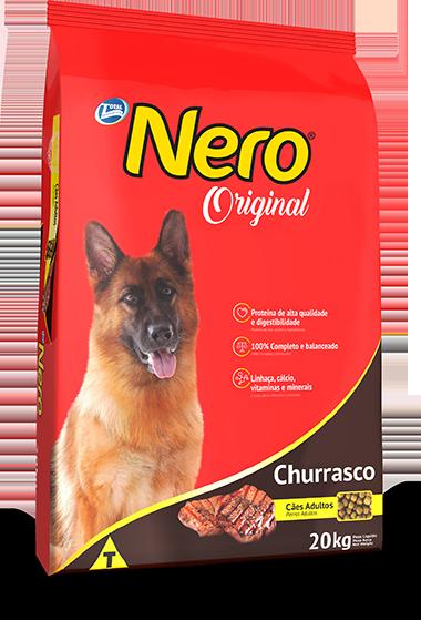 Ração Nero Original Sabor Churraso Para Cães Adultos 15 KG