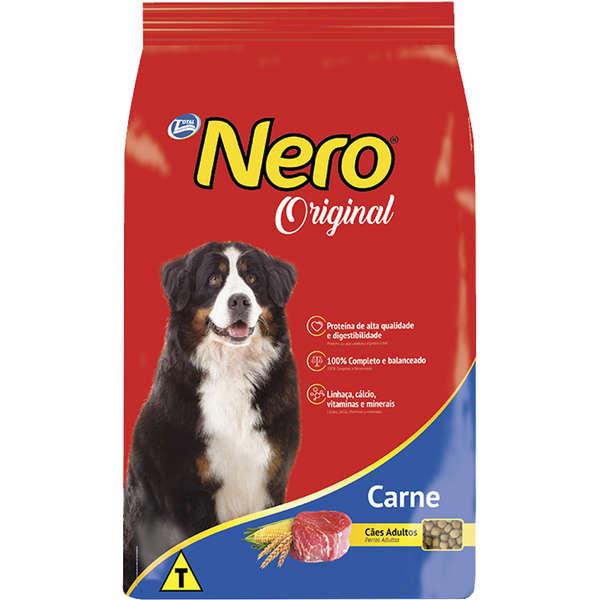 Ração Nero Original Sabor Carne Para Cães Adultos 12 Kg