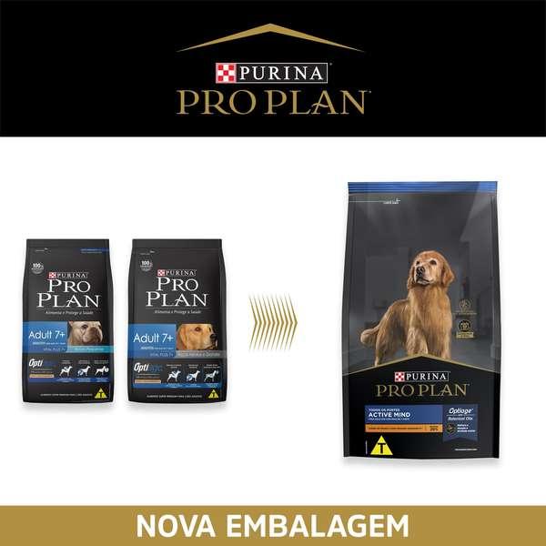 Ração Nestlé Purina Pro Plan Adult 7+ Anos Active Mind para Todos os Portes 7,5 Kg