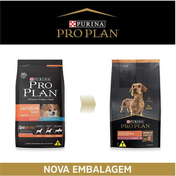 Ração Nestlé Purina Pro Plan Adult Sensitive Skins para Raças Pequenas 1 Kg