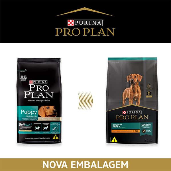 Ração Nestlé Purina Pro Plan Puppy para Cães Filhotes de Raças Grandes 15 Kg
