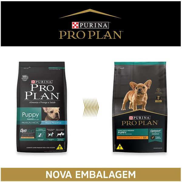Ração Nestlé Purina Pro Plan Puppy para Cães Filhotes de Raças Pequenas 2,5 Kg