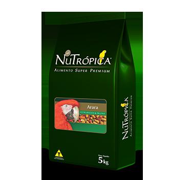 RAÇÃO NUTRÓPICA ARARA COM FRUTAS 5KG