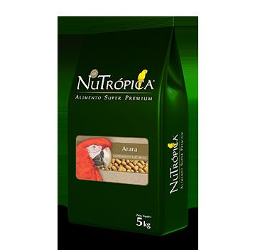 Ração Nutrópica para Araras Extrusado Natural 5 Kg