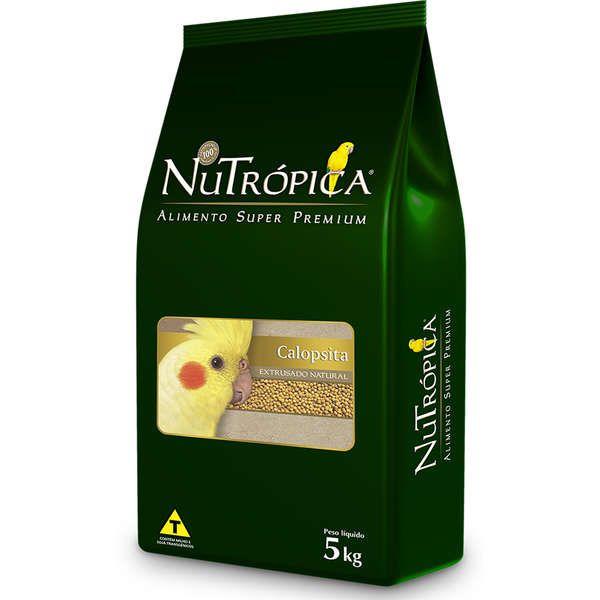 RAÇÃO NUTRÓPICA CALOPSITA NATURAL 5KG