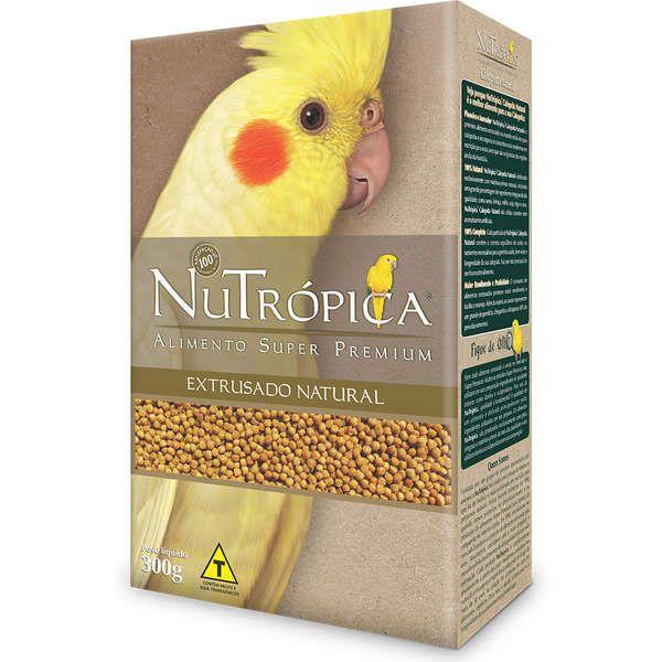 Ração Nutrópica para Calopsita Extrusado Natural