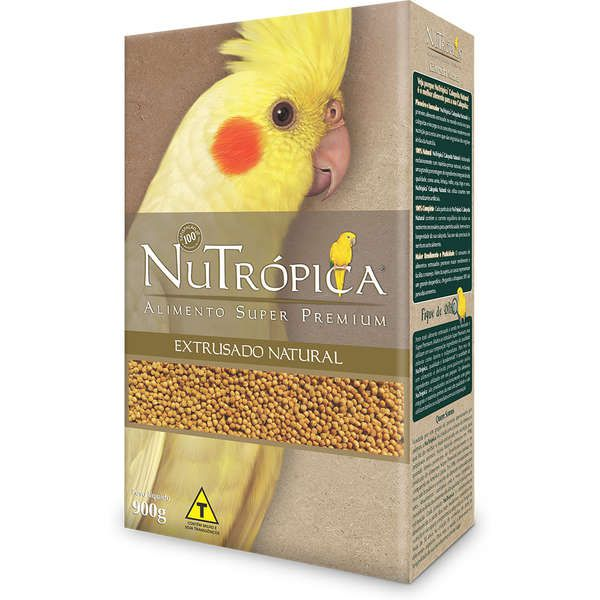 RAÇÃO NUTRÓPICA CALOPSITA NATURAL 900G
