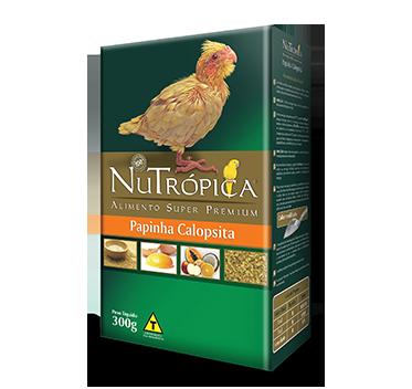 RAÇÃO NUTRÓPICA CALOPSITA PAPINHA 300G
