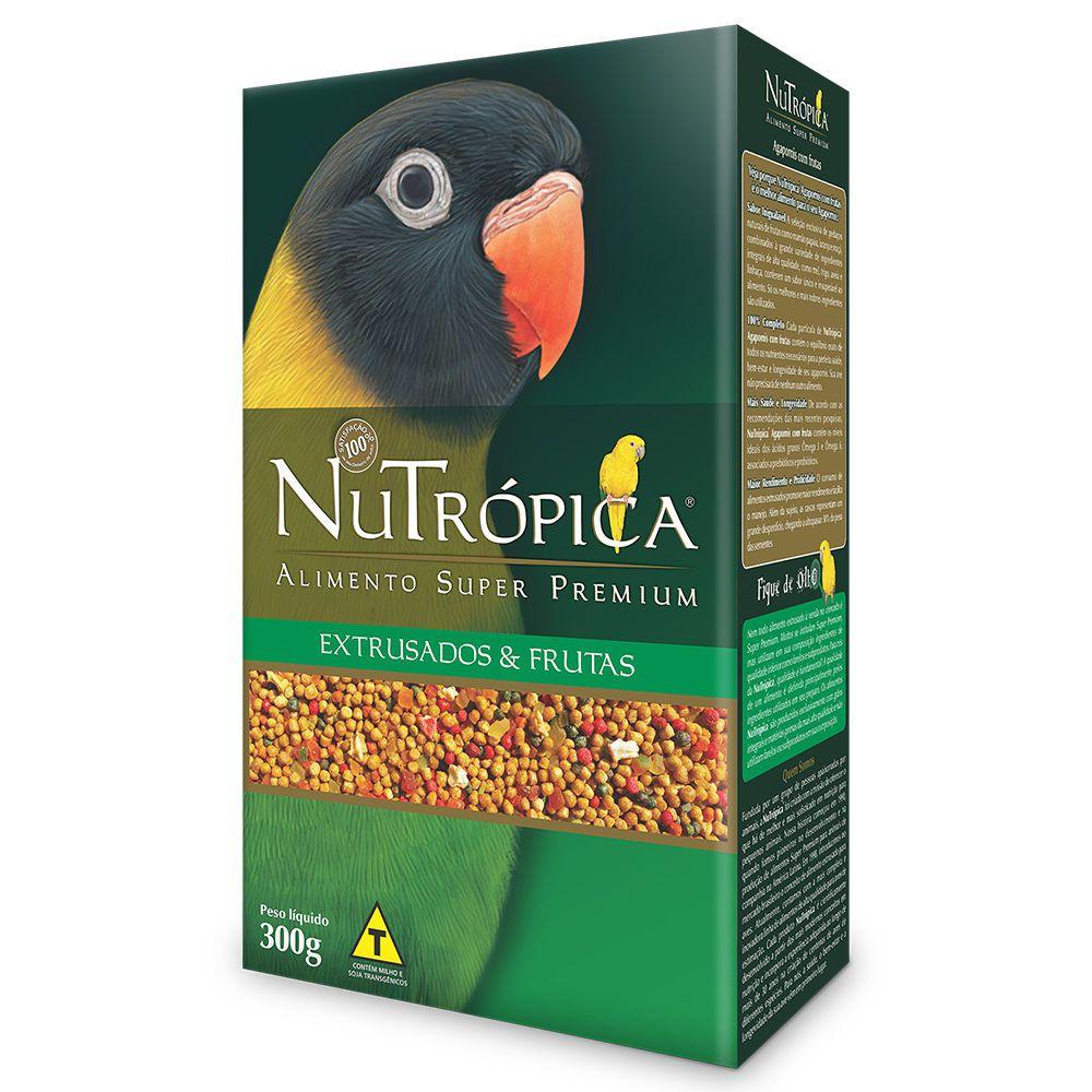 Ração Nutrópica para Agapornis Extrusados e Frutas 300g
