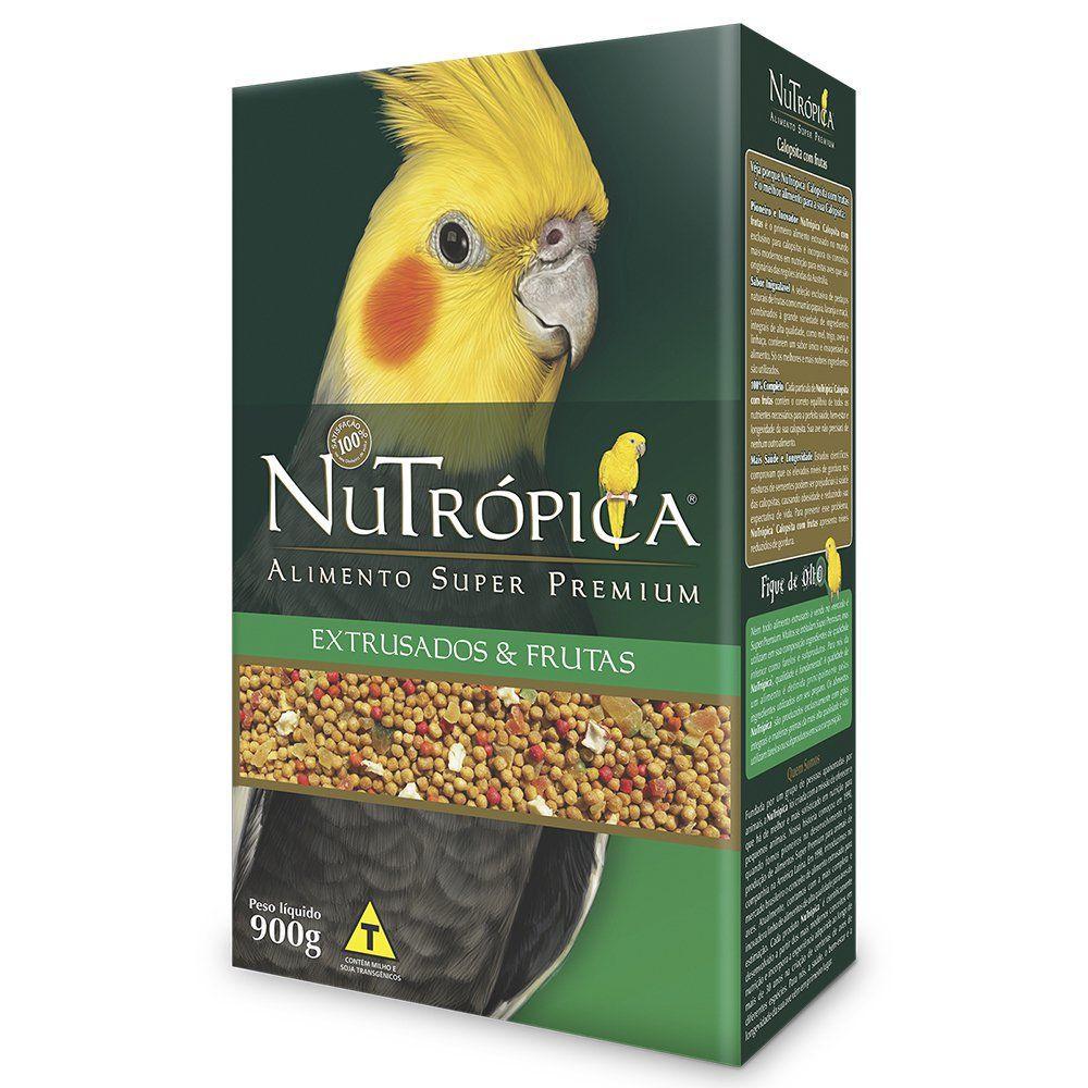 Ração Nutrópica para Calopsita Extrusado e Frutas 900g