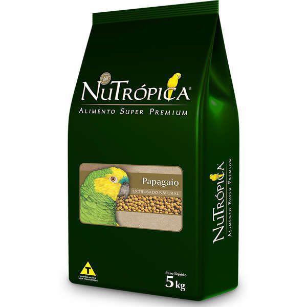 Ração Nutrópica para Papagaio Extrusado Natural 5 Kg