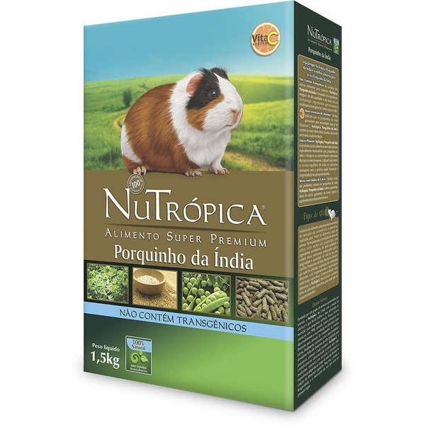 Ração Nutrópica para Porquinho da Índia Natural 1,5Kg