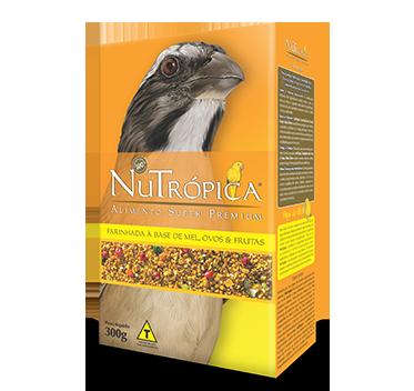Ração Nutrópica para Trinca Ferro à Base de Mel, Ovos e Frutas 300g