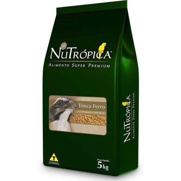 Ração Nutrópica para Trinca Ferro Extrusado Natural 5 Kg
