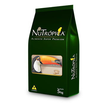 RAÇÃO NUTRÓPICA TUCANO NATURAL 5KG