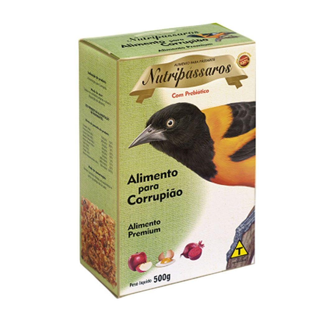 Ração Para Pássaros Corrupião 500g - Nutripássaros