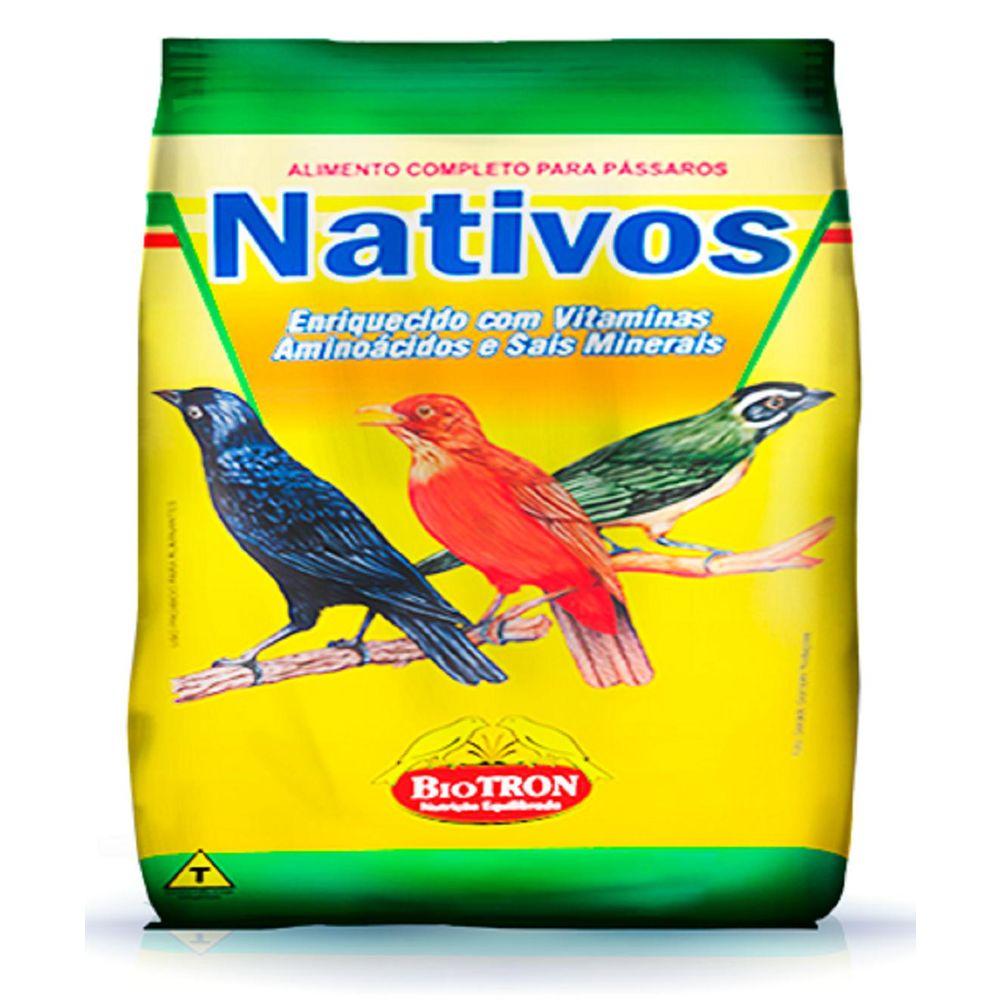 Raçao Pássaros Nativos Biotron 5 Kg
