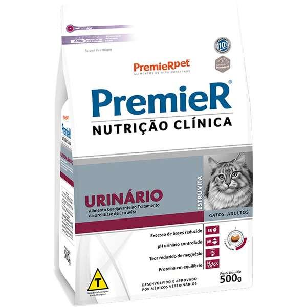 Ração Premier Nutrição Clínica Urinário para Gatos Adultos