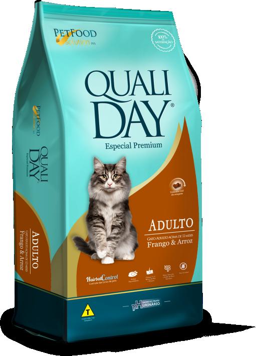 RAÇÃO QUALIDAY CAT ADULTOS SABOR FRANGO