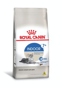 Ração Royal Canin Feline Indoor para Gatos 7+ Anos 400g