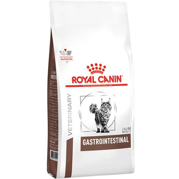 Ração Royal Canin Feline Veterinary Diet Gastro Intestinal para Gatos Adultos 1,5Kg