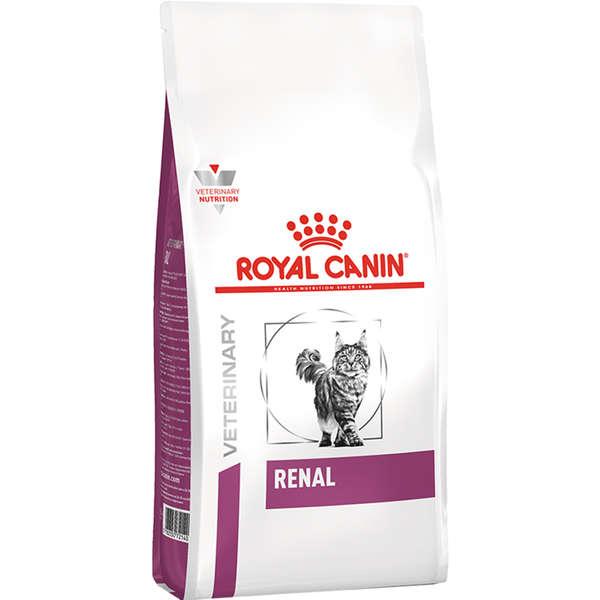 Ração Royal Canin Feline Veterinary Diet Renal para Gatos com Doenças Renais 10 Kg