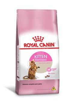 Ração Royal Canin Kitten Sterilised para Gatos Filhotes Castrados de 6 a 12 meses de Idade 1,5Kg