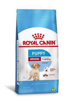 Ração Royal Canin Medium Puppy para Cães Filhotes de Raças Médias de 2 a 12 Meses de Idade 15Kg