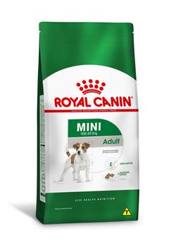 Ração Royal Canin Mini Adult para Cães Adultos de Raças Pequenas com 10 Meses ou mais de Idade 7,5Kg