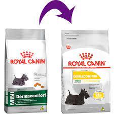 Ração Royal Canin Mini Dermacomfort para Cães Adultos de Raças Pequenas 1Kg